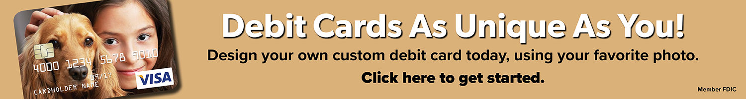 Custom Debit Cards