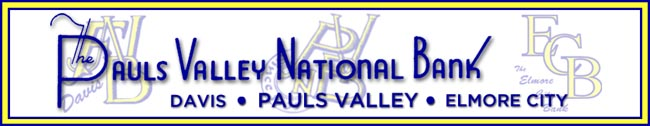 The Pauls Valley National Bank